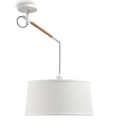 Lámpara de Techo Blanca NÓRDICA Ø45cm