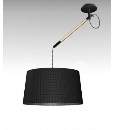 Lámpara de Techo Negra NÓRDICA Ø45cm