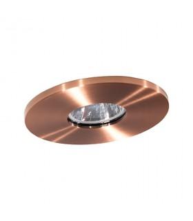 Aro Empotrable redondo cobre viejo GU10 98mm