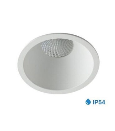 Aro foco Empotrable NC2152R Blanco IP54