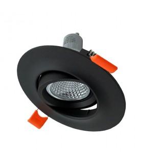 Aro Empotrable Orientable NC2161R Negro Ø11mm