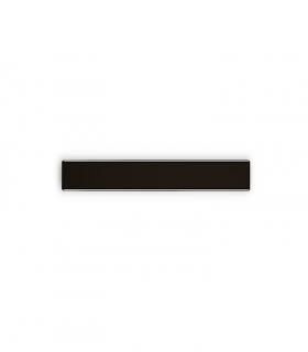 Aplique plano WZ60 negro 60cm 25W 2250lm
