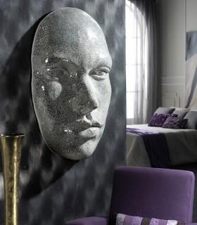 Mascara FAZ espejo plata - Schuller