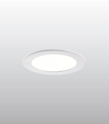 Foco led empotrable redondo blanco 10W Ø115mm