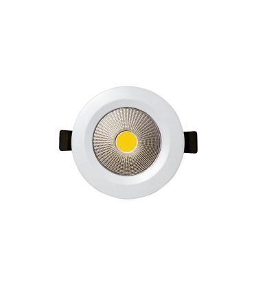 Foco led empotrable redondo blanco 7W Ø14.5mm KB13119