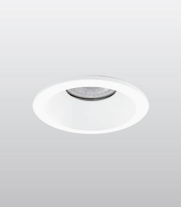 Aro Empotrable redondo fijo blanco FH121 IP65 Ø85mm