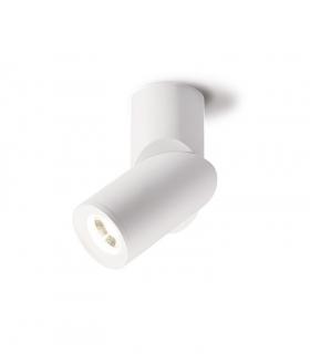 Foco superficie redondo orientable blanco Ø60mm GU10 MX8200