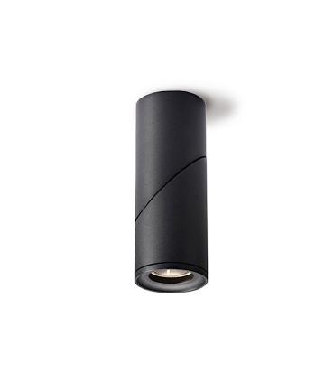 Foco superficie redondo orientable negro Ø60mm GU10 MX8200