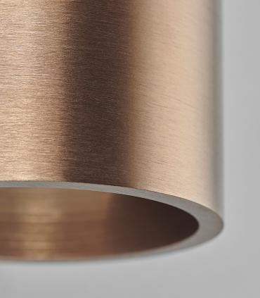 Detalle: Aplique Zero W1 oro rosa Ø70mm - LIGHT POINT
