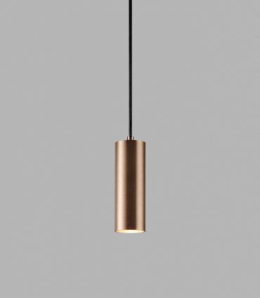 Lámpara Colgante Zero S1 oro rosa Ø70mm - LIGHT POINT