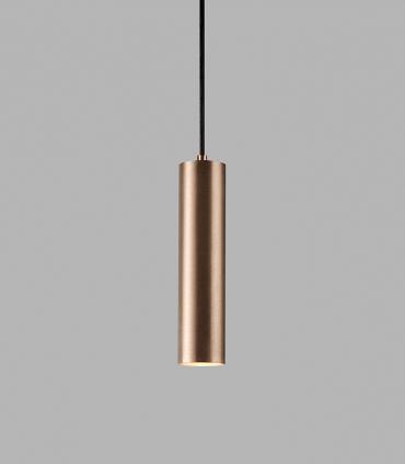 Lámpara Colgante Zero S2 oro rosa Ø70x300mm - LIGHT POINT