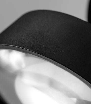 Detalle  VANTAGE 1 negro Ø100mm - LIGHT POINT