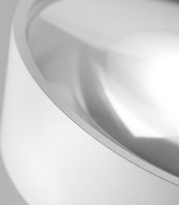 Detalle foco VANTAGE 1+  blanco Ø130mm - LIGHT POINT