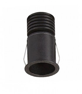 Empotrable GUINCHO LED Negro 5W IP54 Mantra