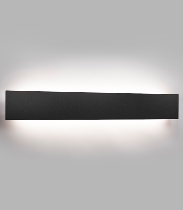 Aplique Cover W1 60cm  Negro  - LIGHT POINT