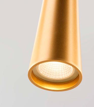 Detalle Colgante Drop S1 oro LIGHT POINT