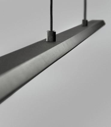 Detalle Colgante Slim S1 negro 120cm - LIGHT POINT
