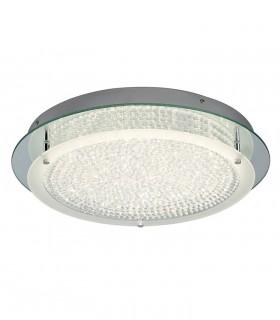 Plafón Crystal Led circular 21W grande 5092