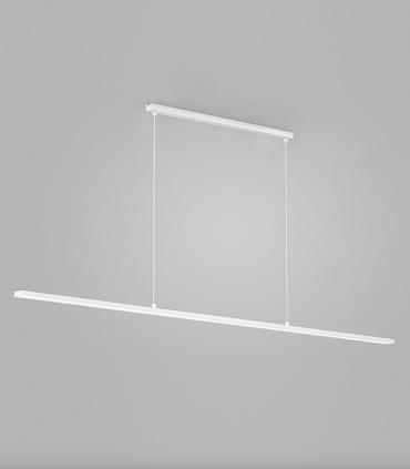 Lámpara Colgante Slim S1 blanco 120cm - LIGHT POINT