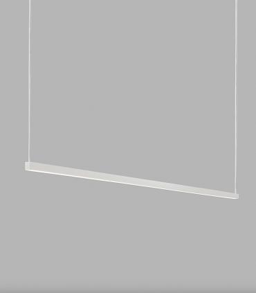Lámpara Colgante Stripe S1500 negro, blanco 150cm - LIGHT POINT
