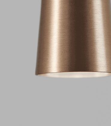 Detalle Colgante Drop S1 oro rosa 60cm - LIGHT POINT