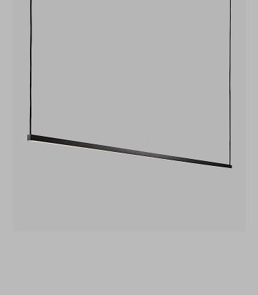 Lámpara Colgante Stripe S2000 negro 200cm - LIGHT POINT