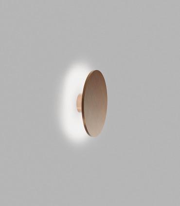 Aplique SOHO W3: Ø300 x 76mm -11W luz cálida 2700K, 535lm