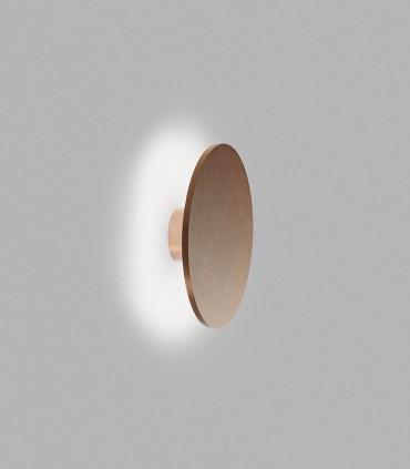 Aplique SOHO: W4: Ø400 x 92mm - 15W luz cálida 2700K, 1363lm
