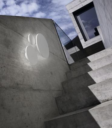 Imagen de ambiente Aplique de diseño SOHO blanco - LIGHT POINT