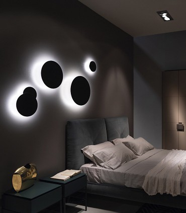 Apliques de diseño SOHO  negros - LIGHT POINT