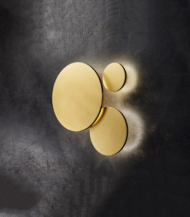 Apliques de diseño SOHO oro - LIGHT POINT