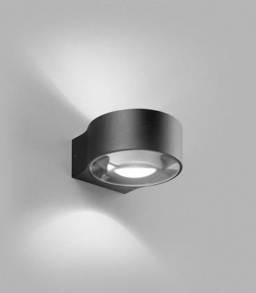 Aplique de diseño ORBIT W1 negro - LIGHT POINT
