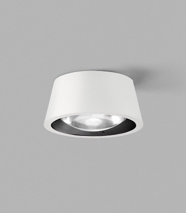 OPTIC OUT 1 blanco - LIGHT POINT con arillo negro incluido.