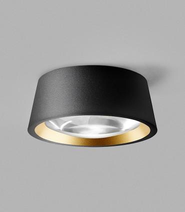 OPTIC OUT 1+ negro - LIGHT POINT con arillo dorado incluido