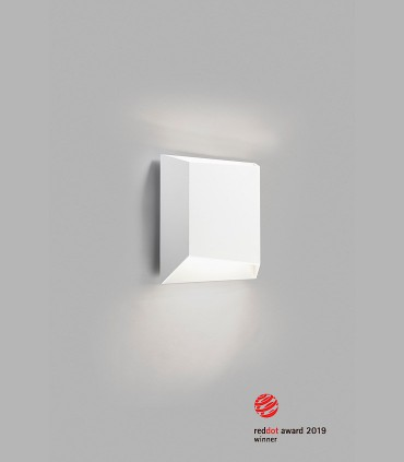 Aplique de diseño FACET UP/DOWN W1 blanco LED - LIGHT POINT