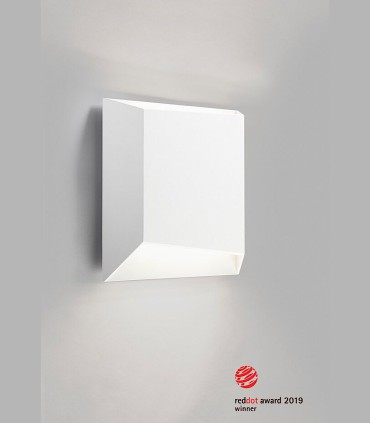Aplique de diseño FACET UP/DOWN W2 blanco LED - LIGHT POINT