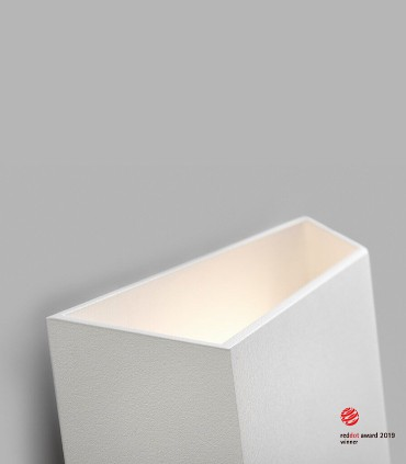 Detalle Aplique de diseño FACET UP/DOWN  blanco LED - LIGHT POINT