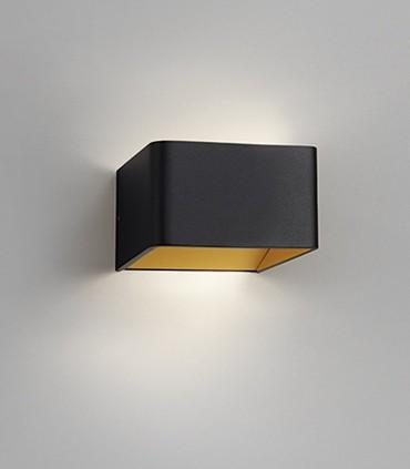 Aplique de diseño MOOD 1 negro-oro LED - LIGHT POINT