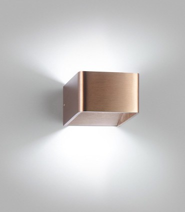 Aplique de diseño MOOD 1 oro rosa LED - LIGHT POINT
