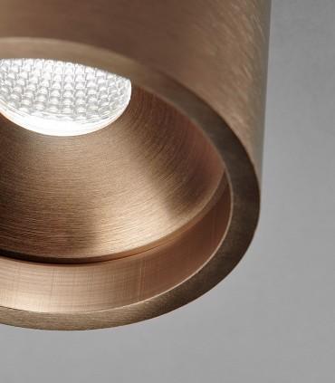Detalle acabado SOLO ROUND oro rosa - LIGHT POINT