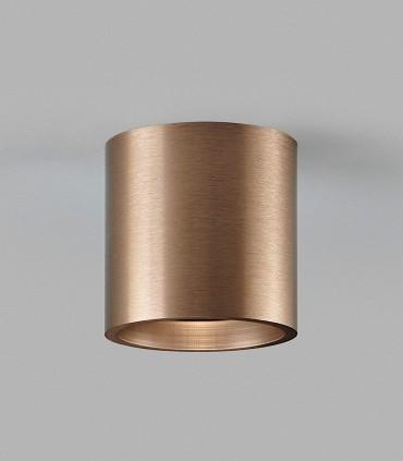 Foco superficie SOLO ROUND 2 oro rosa - LIGHT POINT