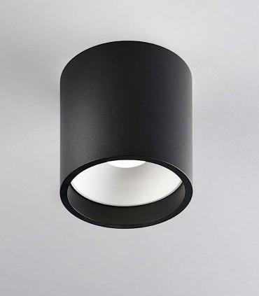Foco superficie SOLO ROUND 2 negro/blanco - LIGHT POINT