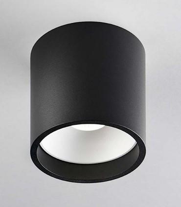 Foco superficie SOLO ROUND 3 negro/blanco - LIGHT POINT