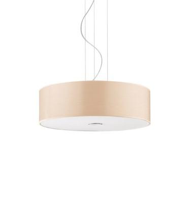 Lámpara de techo WOODY SP madera E-27 - IDEAL LUX