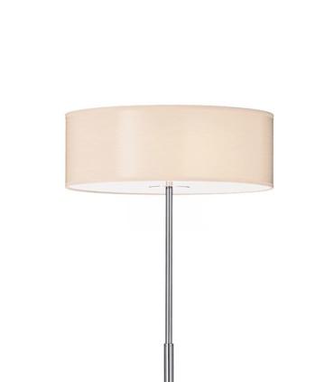 Detalle pantalla Lámpara de pie WOODY PT  Madera - IDEAL LUX