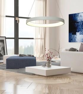 Lámpara Colgante NISEKO 90cm 60W, 5795, Mantra, Imagen de ambiente.