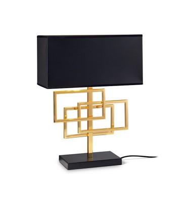 Lámpara sobremesa LUXURY TL1 oro - IDEAL LUX