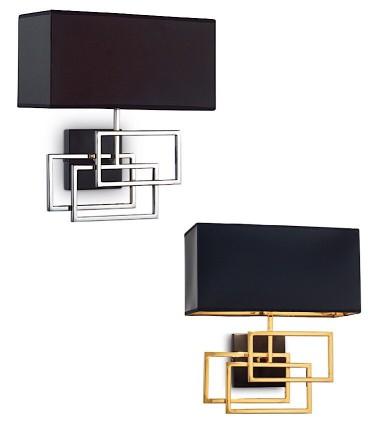 Apliques LUXURY AP1 cromo, oro - IDEAL LUX