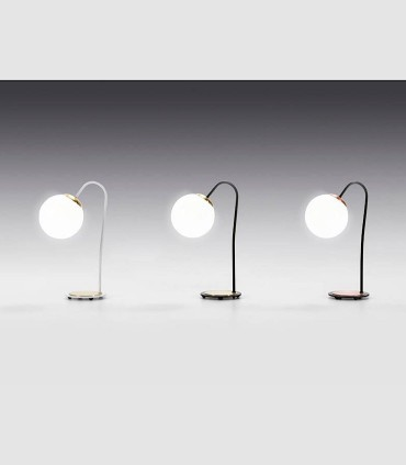 Lámparas de mesa MOON 1L E27 - ILUSORIA