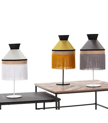 Lámpara de mesa PAMELA saco 1L E27 - ILUSORIA